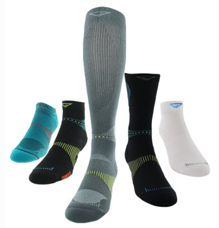 Voxx Socks Styles and Sizes Image