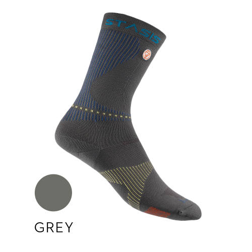 Athletic Stasis Crew Sock with HPT