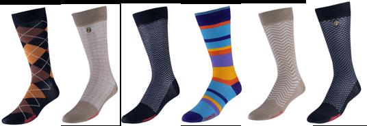 VoxxLuxe Mercerized Cotton Dress Socks - All