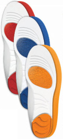 Insoles with HPT