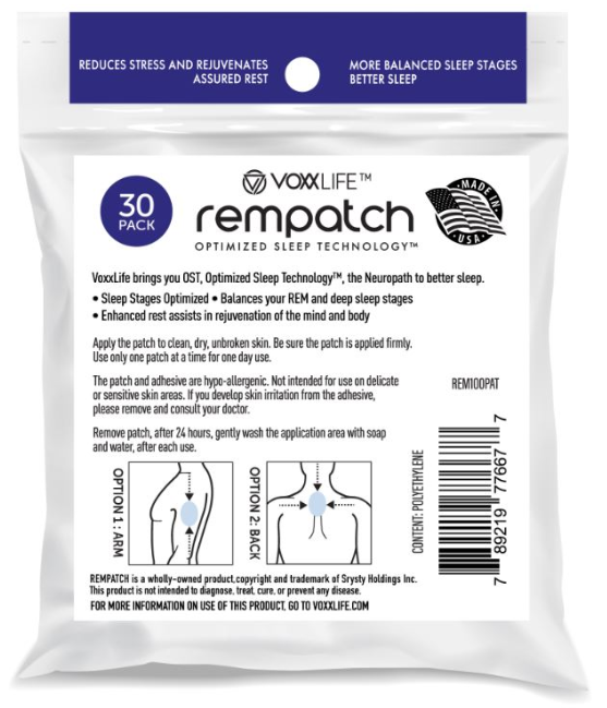 REM Patch Rempatch Product Use Image Med