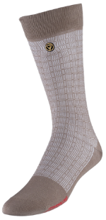 VoxxLuxe Mercerized Cotton Dress Sock Checkers
