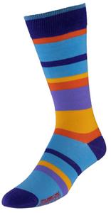 VoxxLuxe Mercerized Cotton Dress Sock Ombre Image
